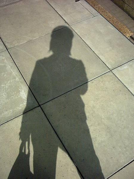 帥氣的影子!