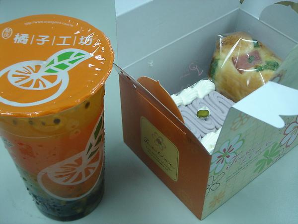 20100327點心盒和飲料.JPG