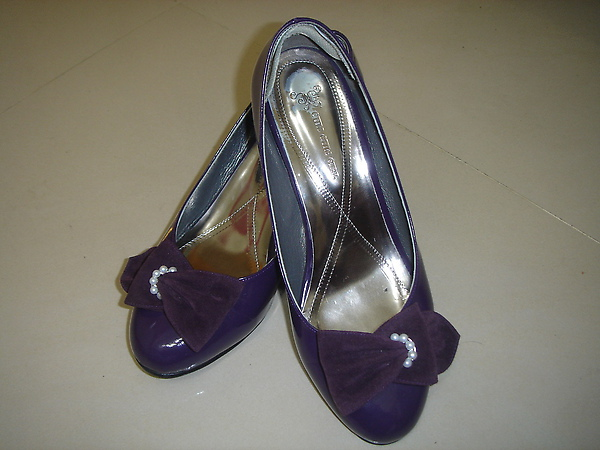 ◆CHIC CHIC GIRL~日劇女主角第一指名氣質跟鞋*紫_二姊加工版