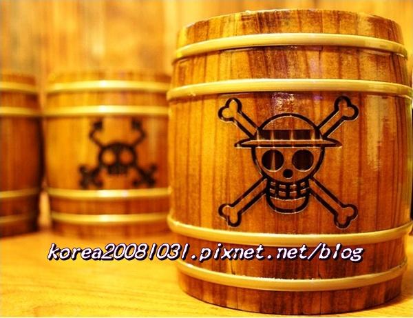 海賊王木桶杯