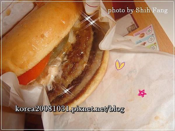 雙層摩斯漢堡