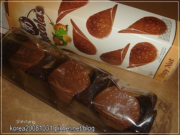 巧克力洋芋片