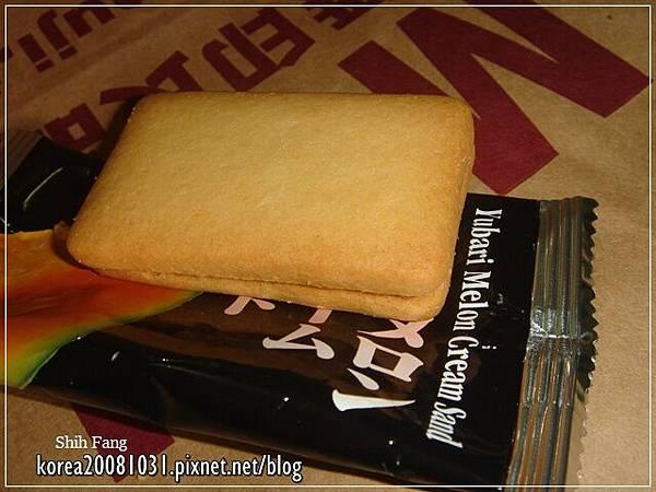 哈密瓜奶油夾心餅