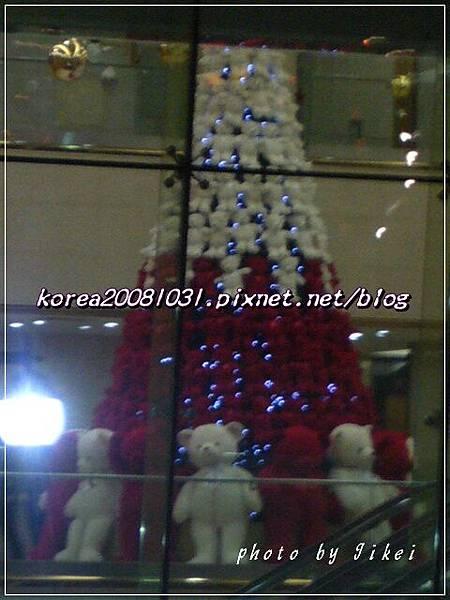 小熊聖誕樹