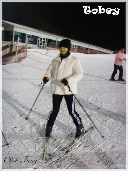 再戰滑雪場