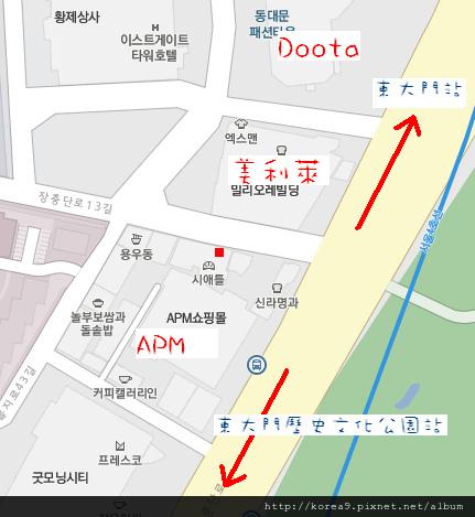 東華飯店地圖