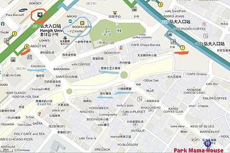 弘大PMH地圖2