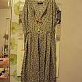 粉藍甜美洋裝~1680元