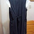 灰色長板外套~590元