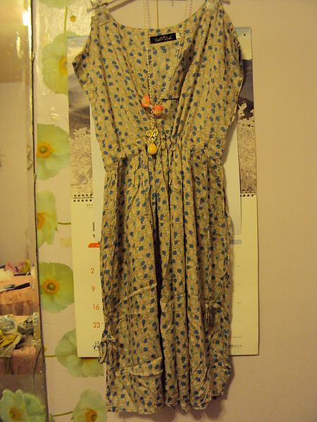 粉色甜美洋裝~1680元