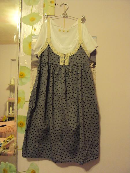 甜美背心洋裝組~1380元