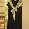 灰色蝴蝶袖洋裝~980元
