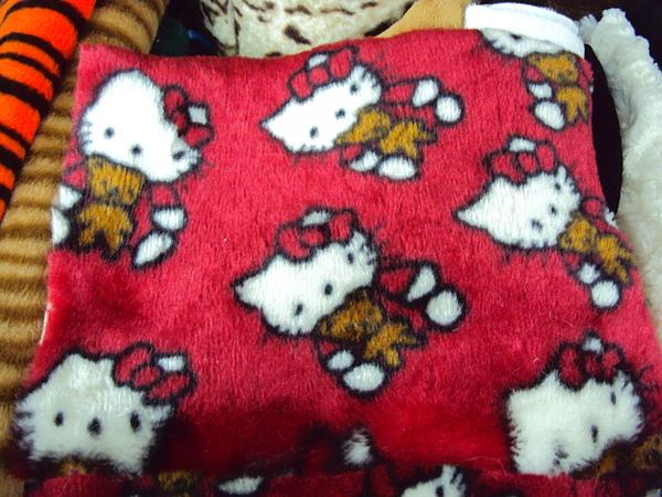永樂市場kitty絨布