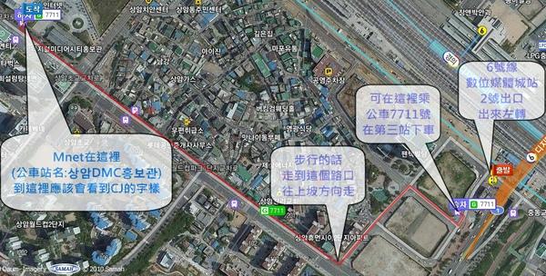 Mnet路線圖