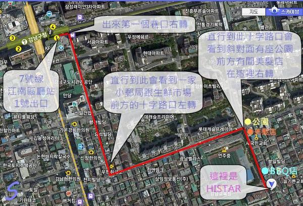 HISTAR路線圖