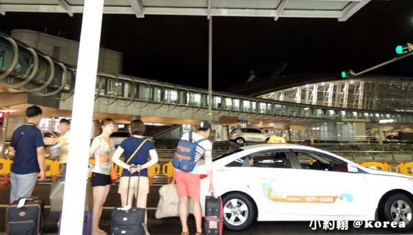 韓國自由行-第一天-4.首爾仁川機場 計程車.jpg