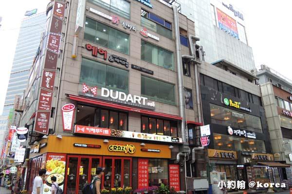 韓國自由行- 第二天-2.東大門商圈2餐廳大樓.jpg
