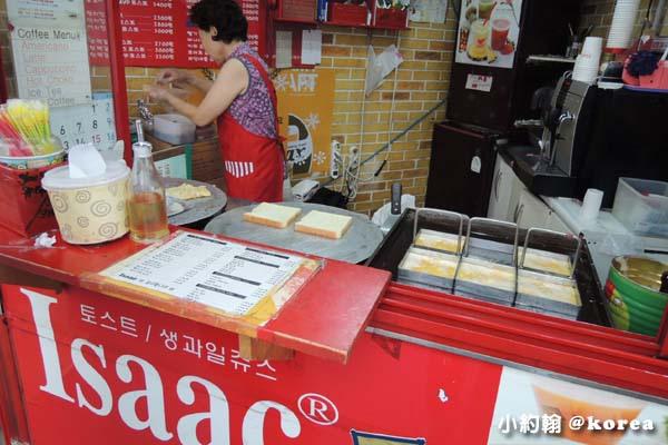 韓國自由行-第二天-4.Isaac toast美味土司.jpg