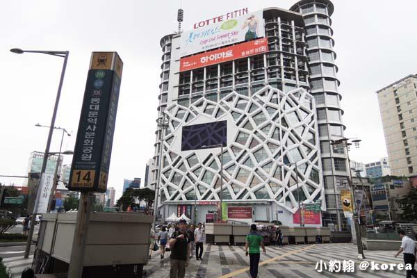 韓國自由行-第二天-7.東大門商圈 LOTTE FITIN.jpg