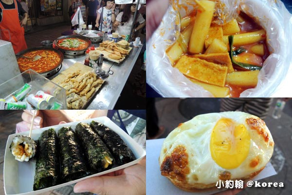 韓國自由行-第二天-10.明洞 Myeongdong商圈夜市小吃2