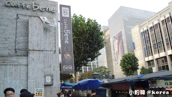 韓國咖啡廳caffe bene caffe bene.jpg