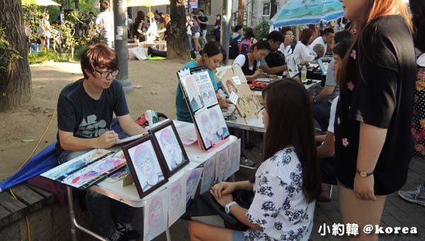 韓國首爾五天四夜自由行 Day4.弘大假日創意手作市場2