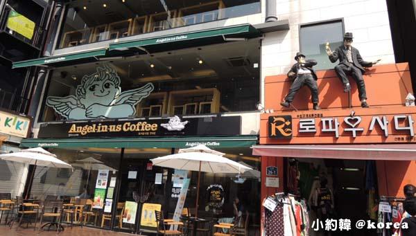 韓國首爾五天四夜自由行 Day5. 新村Angel-in-us Coffee 天使咖啡廳.jpg