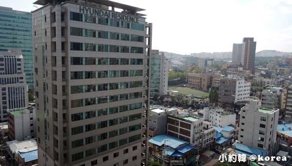 韓國首爾東大門公寓式飯店Hyundai Residence