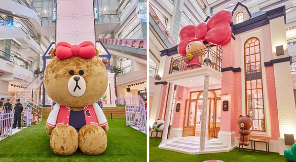 CHOCO LINE Friends Store & Cafe Taipei2