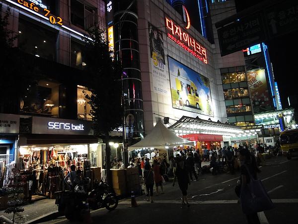 韓國東大門夜景