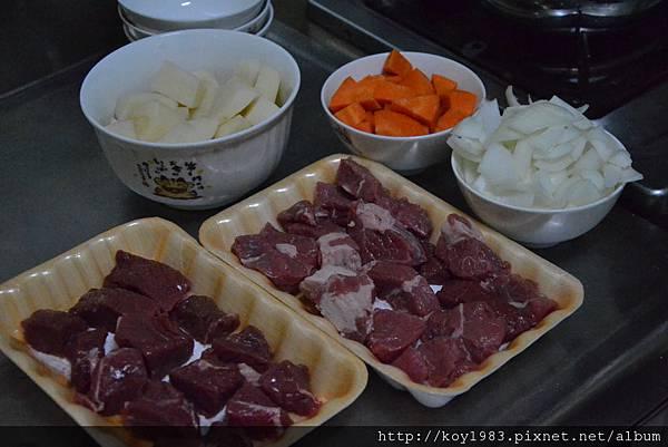 12-09-08帥哥主廚到我家台灣版之日式咖哩 014