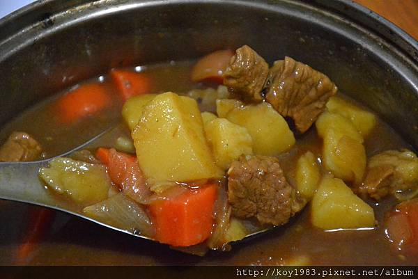 12-09-08帥哥主廚到我家台灣版之日式咖哩 069