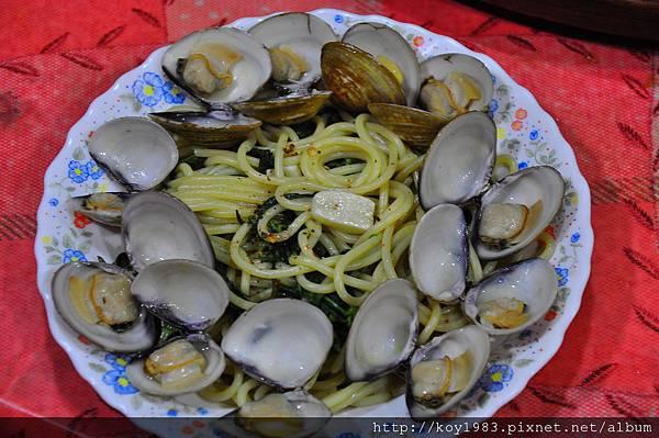 12-09-22清清淡淡白酒蛤蜊麵 030