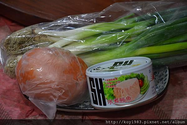 12-10-07青蔥鮪魚洋蔥沙拉 001