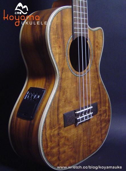 """烏克麗麗 26""""  KOA ukulele foront low P.jpg"""