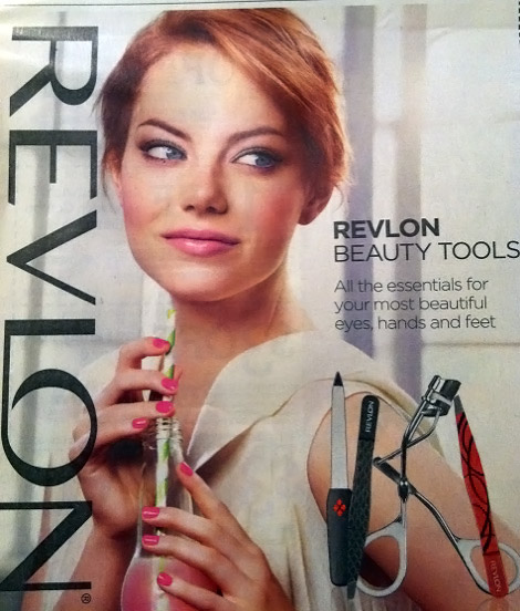 Emma-Stone-Revlon-beauty-tools-ad-campaign