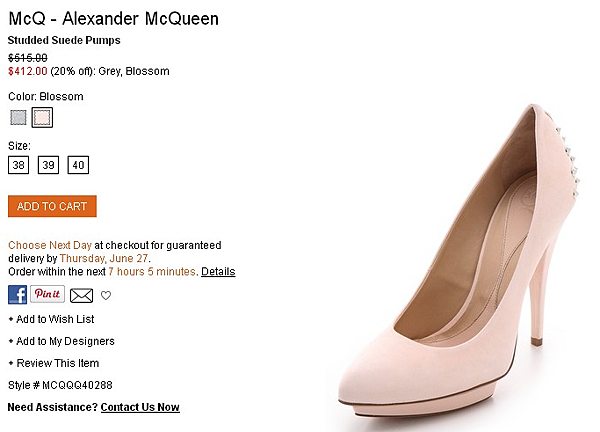 McQ - Alexander McQueen Studded Suede Pumps   SHOPBOP   Use Code  EXTRA25 for 25  Off Sale Items.png