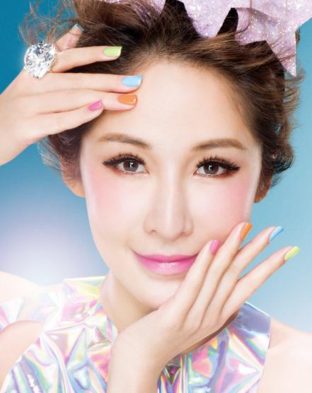 UNT 2014春夏指彩-鑽石糖霜的告白系列 甜蜜上市|三入送美甲貼再抽ELVA設計精品包 (1)