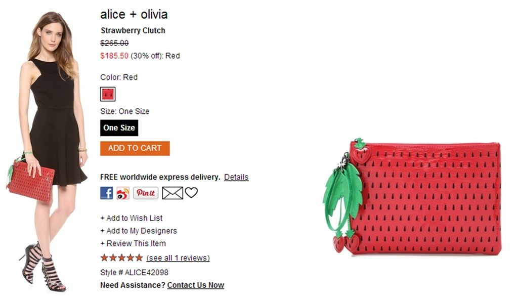 alice + olivia Strawberry Clutch.jpg
