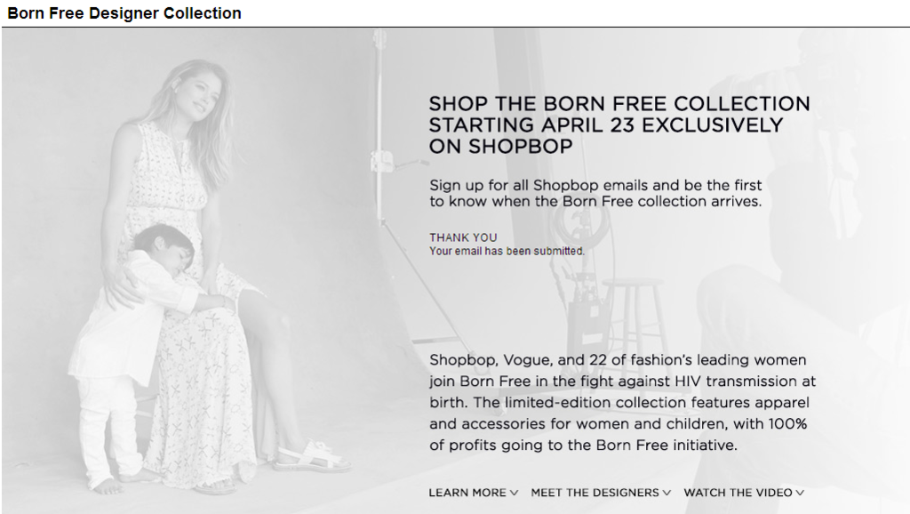 Born Free Africa HIV-Free Campaign at SHOPBOP (1).png