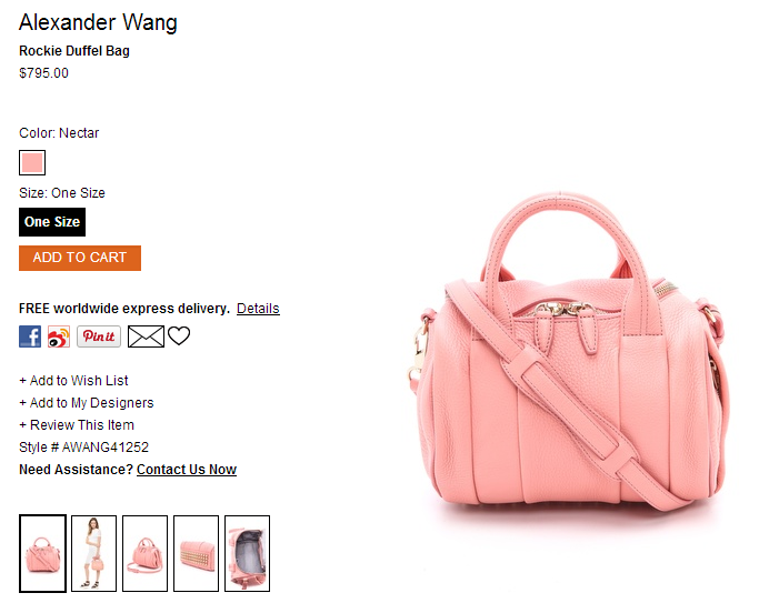 Alexander Wang Rockie Duffel Bag   SHOPBOP.png