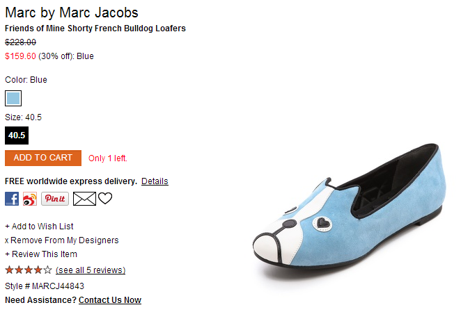 Marc by Marc Jacobs Friends of Mine Shorty French Bulldog Loafers   SHOPBOP.png