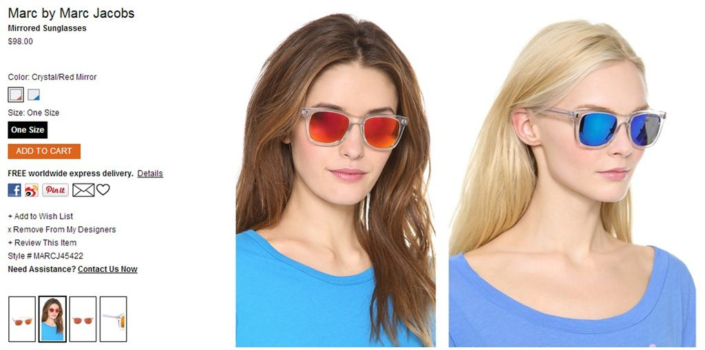 Marc by Marc Jacobs Mirrored Sunglasses   SHOPBOP-horz.jpg