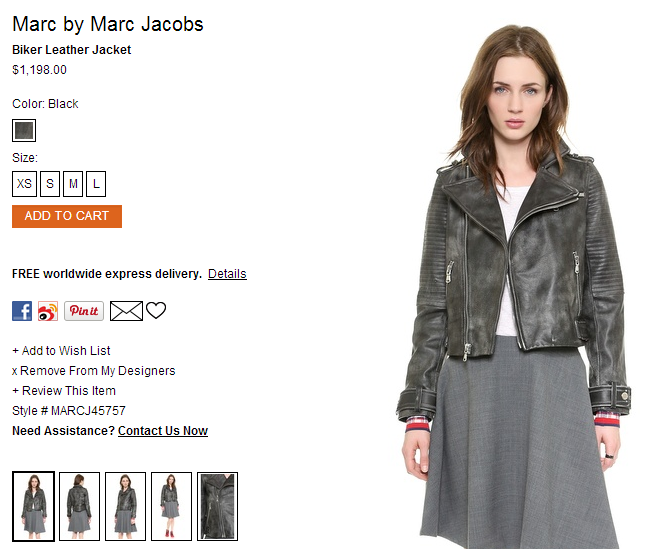 Marc by Marc Jacobs Biker Leather Jacket   SHOPBOP.png