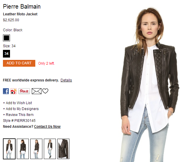 Pierre Balmain Leather Moto Jacket   SHOPBOP.png
