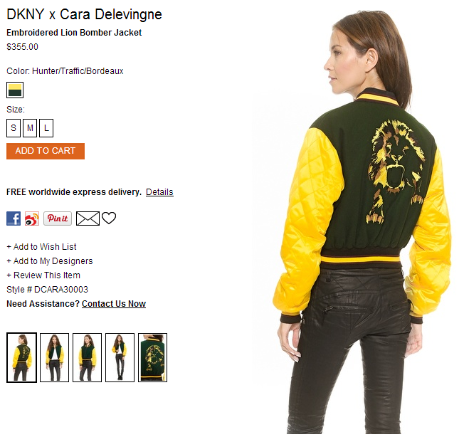 DKNY x Cara Delevingne Embroidered Lion Bomber Jacket   SHOPBOP.png