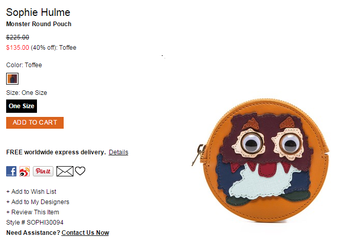 Sophie Hulme Monster Round Pouch   SHOPBOP.png