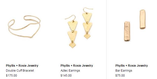 Phyllis   Rosie Jewelry   SHOPBOP