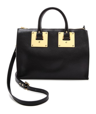 Sophie Hulme Zip Top Bowling Bag   SHOPBOP
