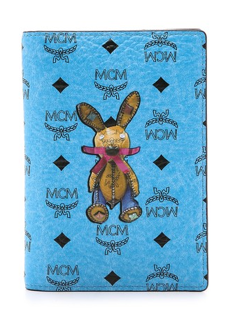 MCM Rabbit Print Passport Case   SHOPBOP